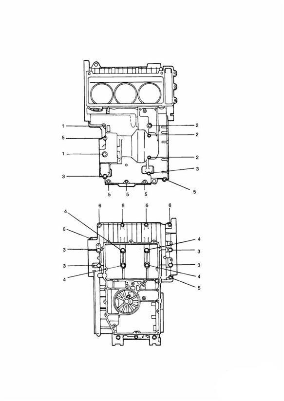 2000 Triumph Thunderbird Screw  M8 X 65mm Black Engine No