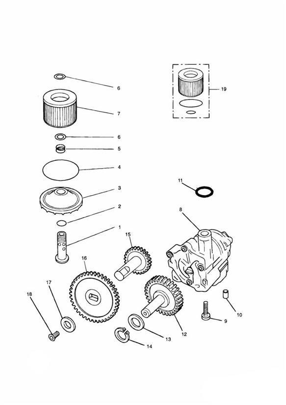 2003 Triumph Thunderbird Washer  Engine  System